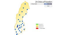 25 Cities Of Sweden